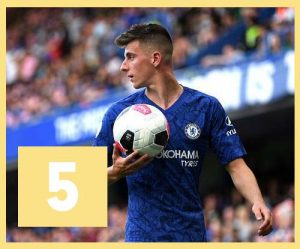 Top 5 des maillots de Premier League 2019-2020